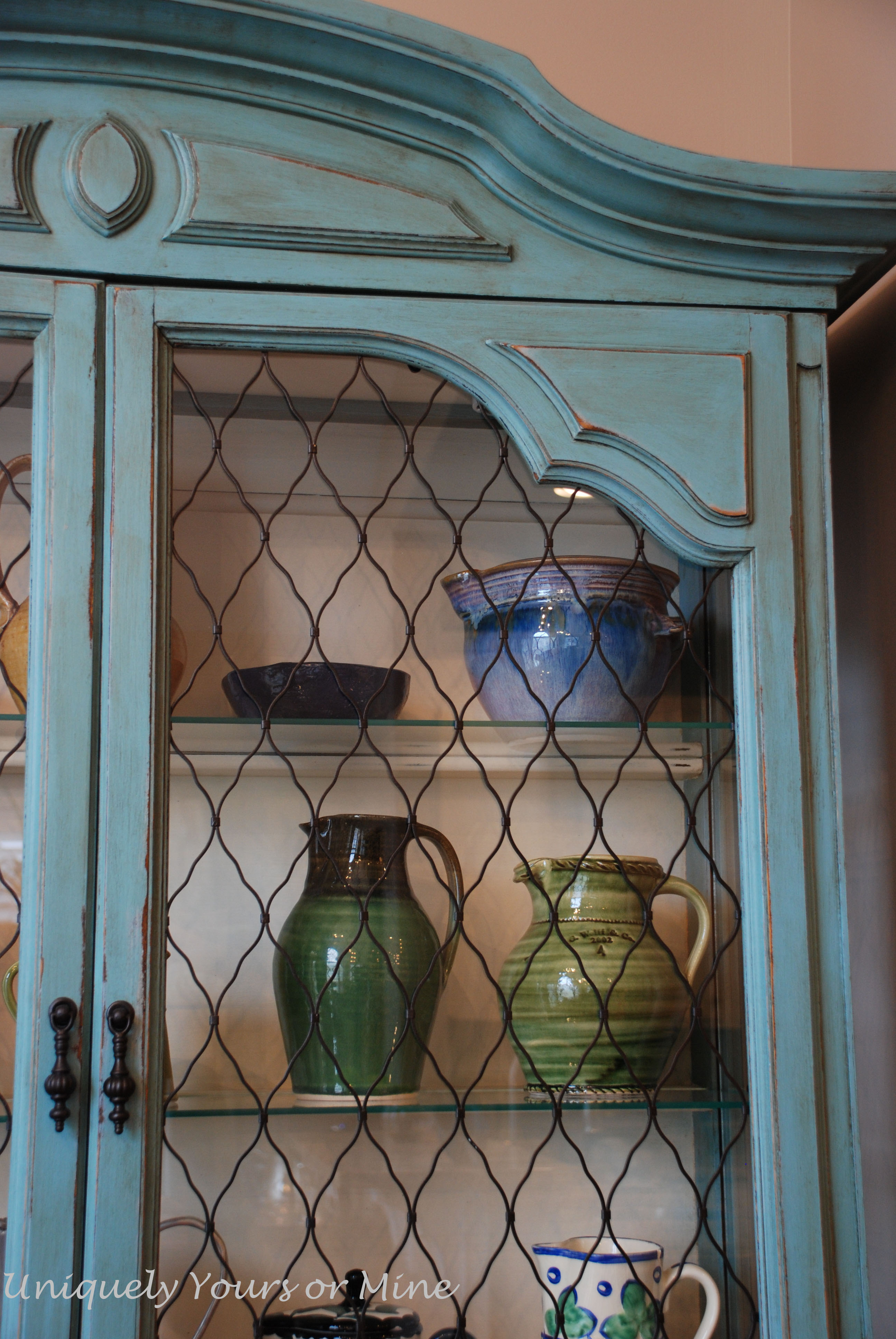 after close up - China Hutch