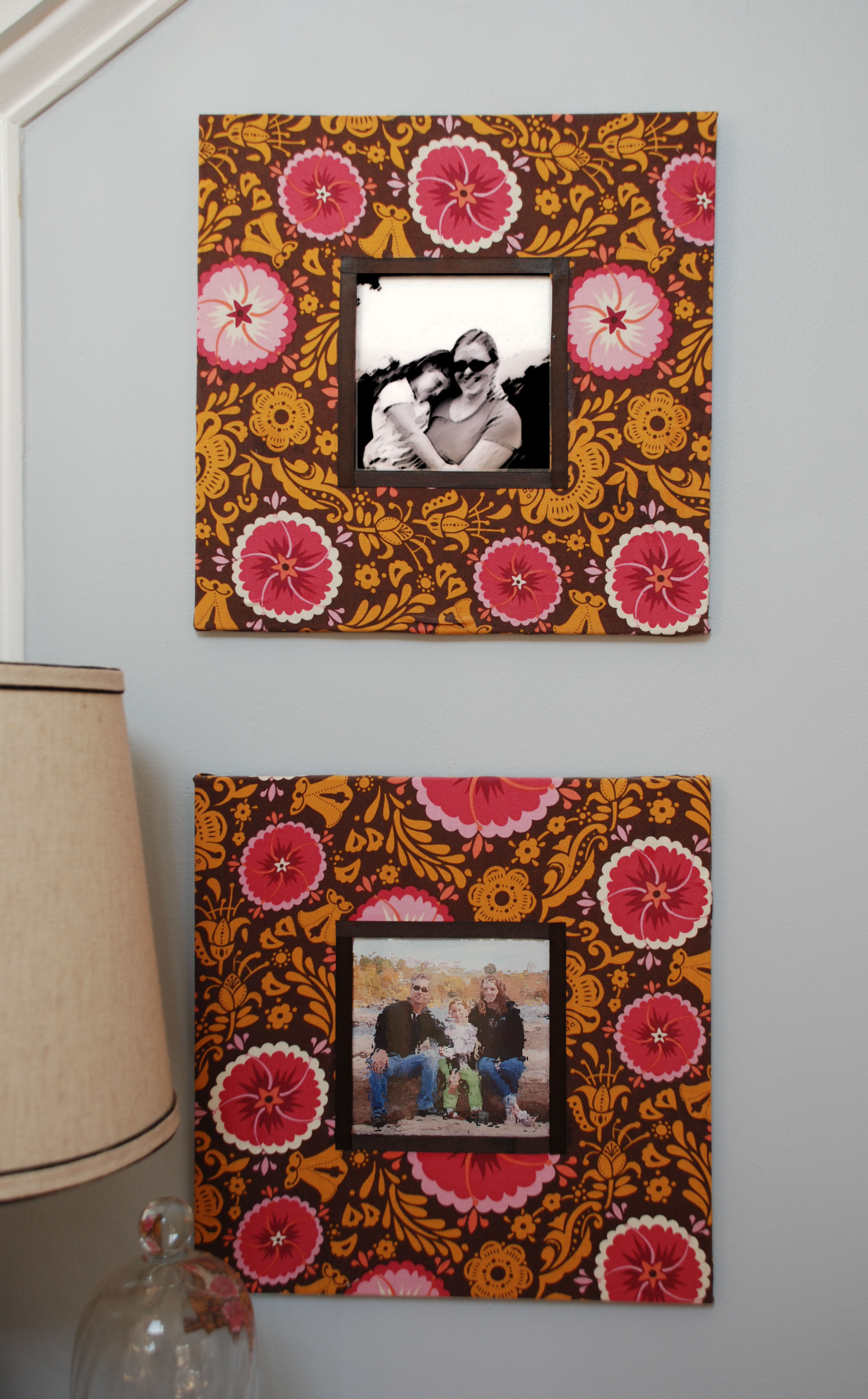 Customizing Basic Picture Frames & Mat Board | Uniquely Yours... or ...