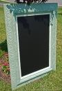Vintage Frame TurnedChalkboard