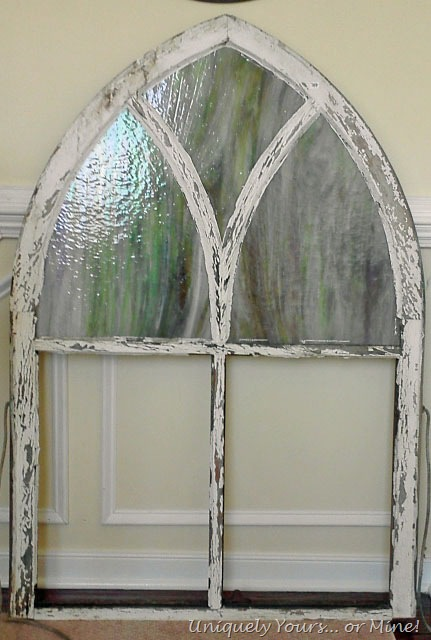 A Fresh Start For An Old Church Window Uniquely Yours Or Mine