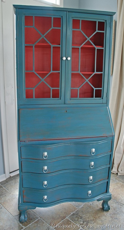 Painted Secretary Desk