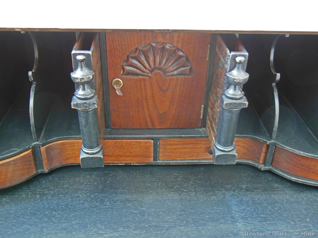 Incredible Vintage Claw Foot Drop Front Secretary Desk Uniquely Yours Home Interior And Landscaping Oversignezvosmurscom