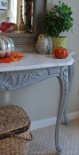 Carrera Marble Topped Console Table