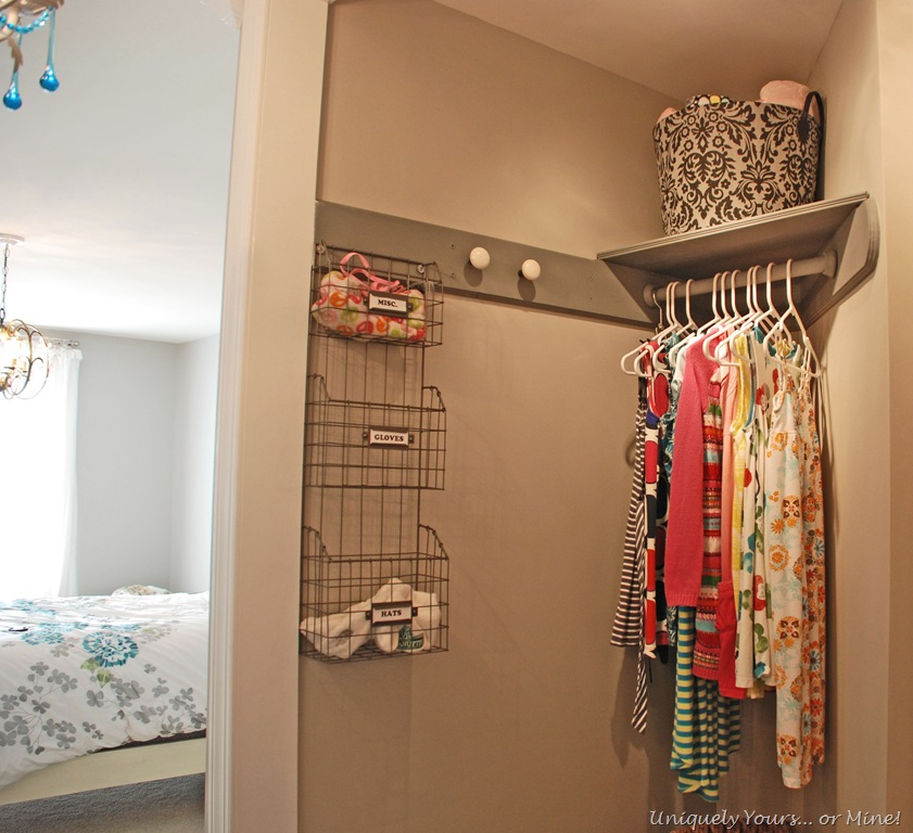 updating a closet. Black Bedroom Furniture Sets. Home Design Ideas