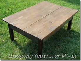 F Farmhouse Table