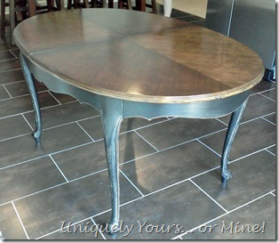 F french dining table