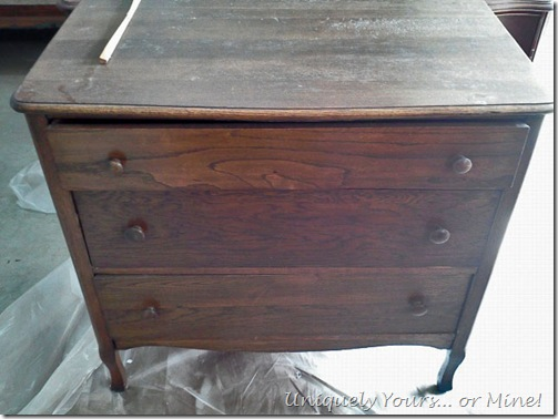 UF 3 Drawer Dresser