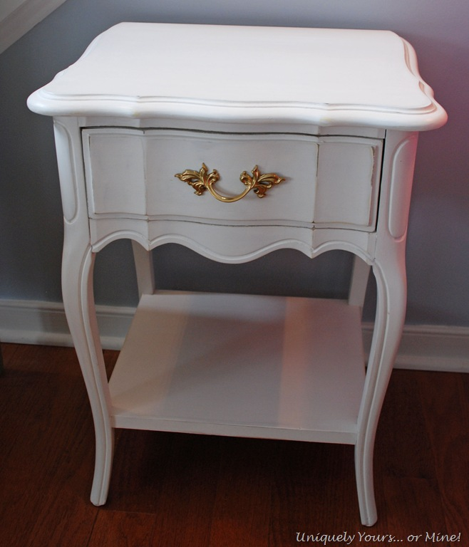 Does Paint Go Bad >> It's Raining Nightstands! – Uniquely Yours… or Mine!