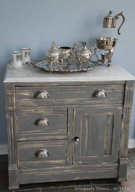 Vintage Marble Topped Washstand Uniquely Yours Or Mine