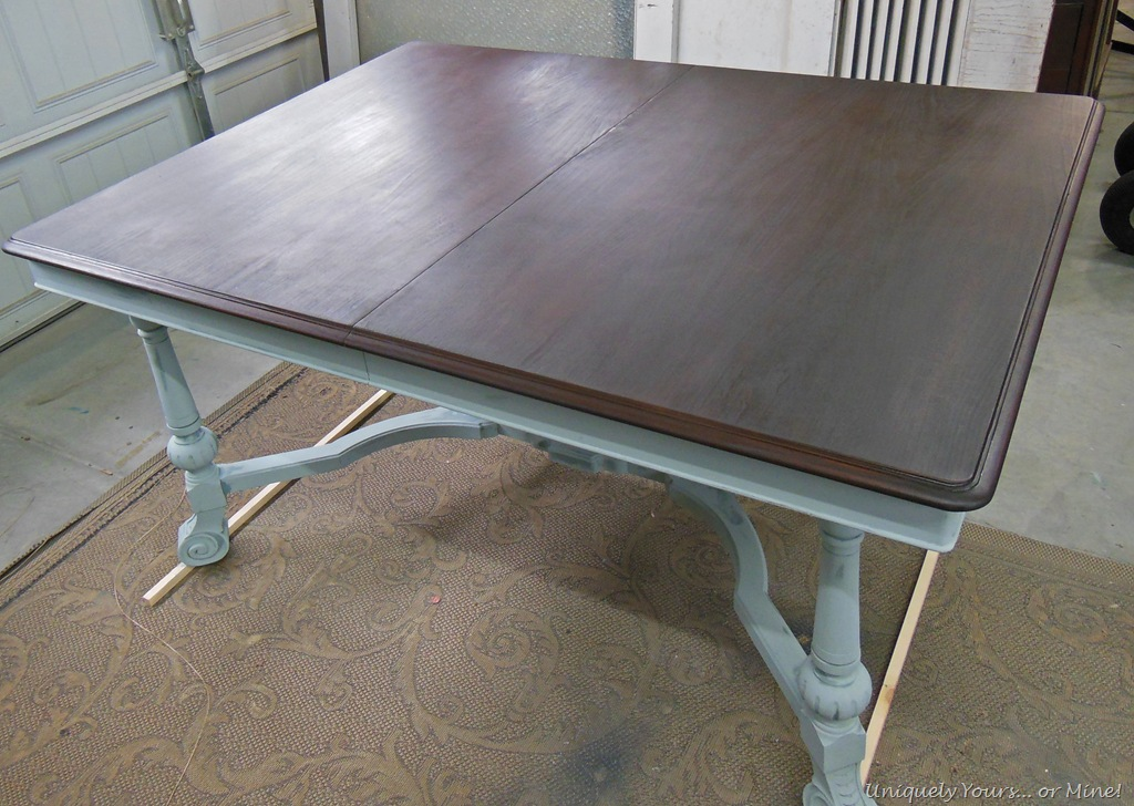 Vintage Dining Table Refinishing Tutorial Uniquely Yours