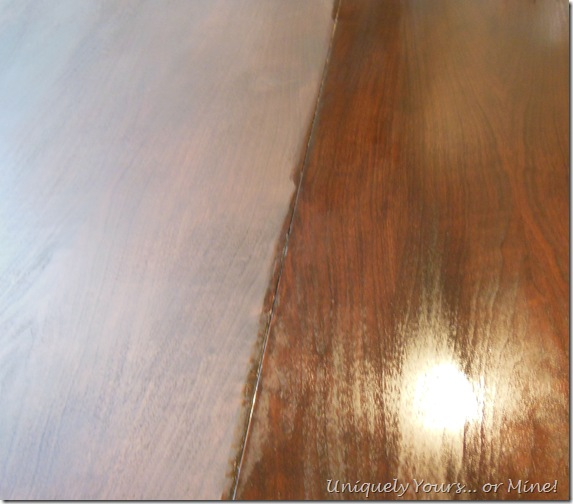 oiled dining room table top