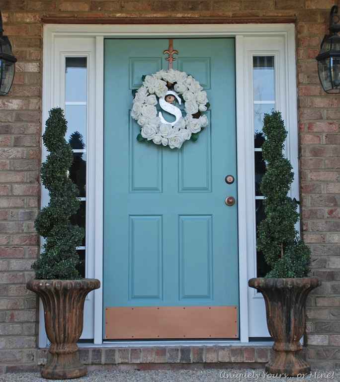 Blue Front Door Extraordinary With Blue Front Door Paint Colors Image