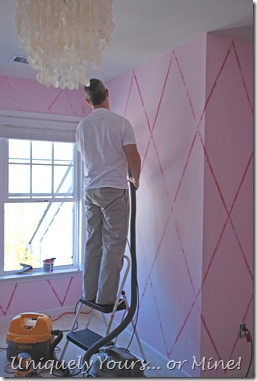 removing stripes on walls
