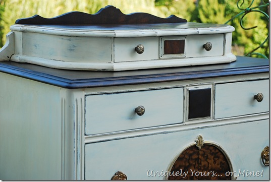 Refinished vintage chest of drawers