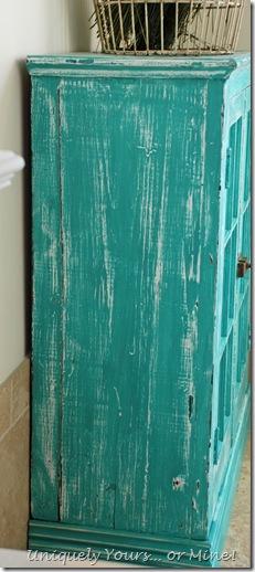 bathroom cabinet update