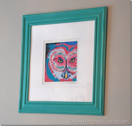 custom owl print