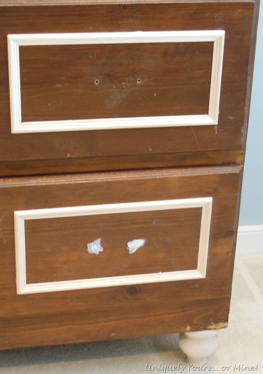 adding trim to cabinets uniquely yours or mine. Black Bedroom Furniture Sets. Home Design Ideas