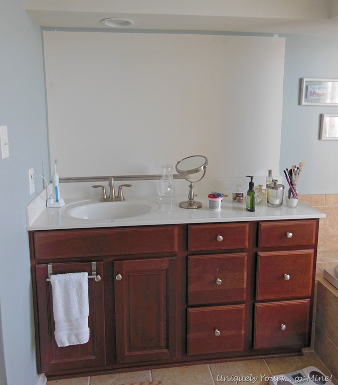 Framing Bathroom Mirrors the Hard Way – Uniquely Yours… or Mine!