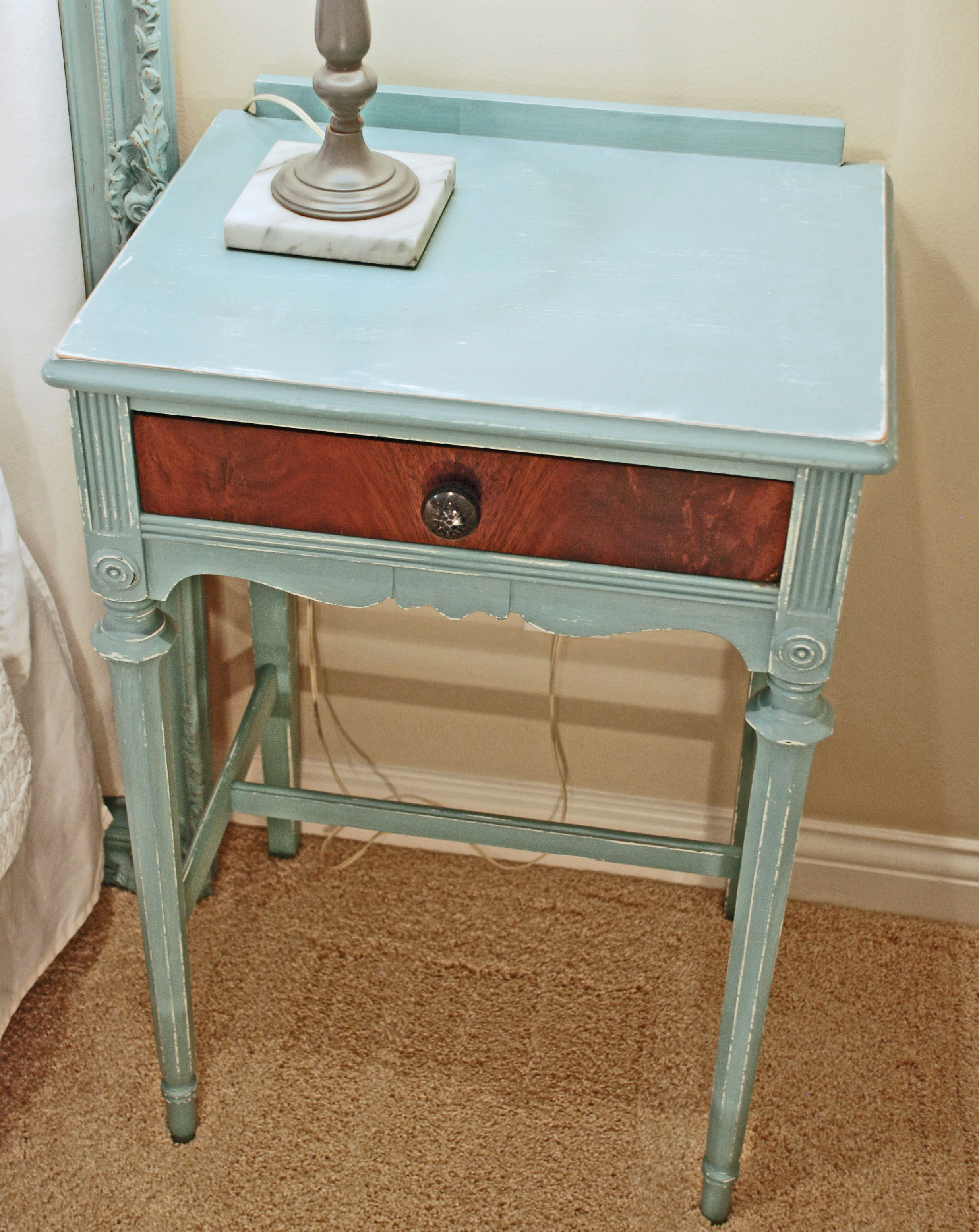 Roughed Up Nightstand Uniquely Yours Or Mine