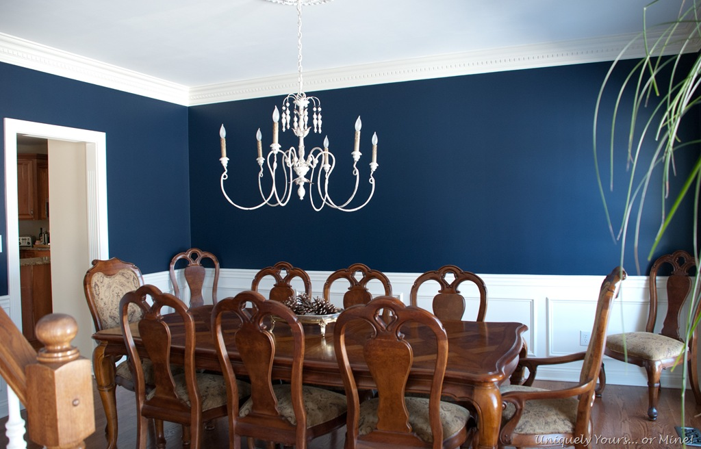 Navy Blue Room Beauteous Of Navy Blue Dining Room Photo