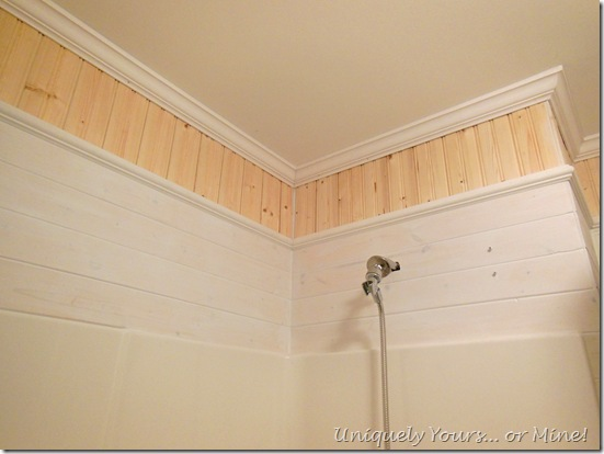 installing wood planks on walls