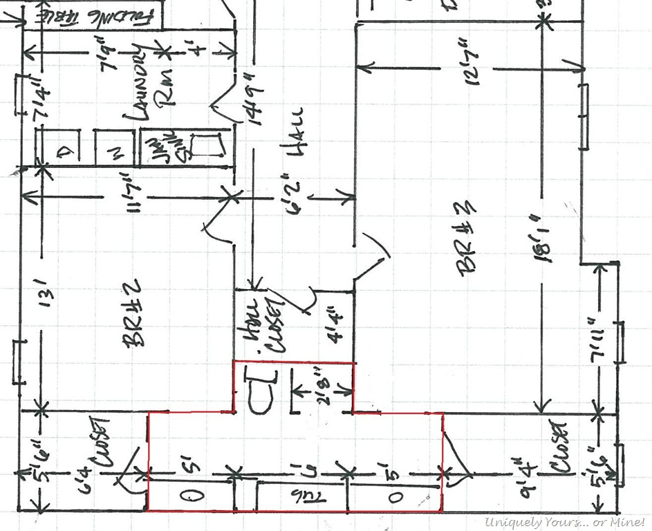 Installing wood planking in the bathroom uniquely yours - Jack and jill bathroom layout ...