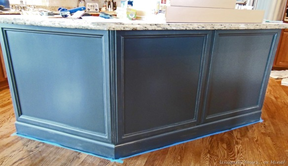 adding molding to kitchen island | Uniquely Yours... or Mine!