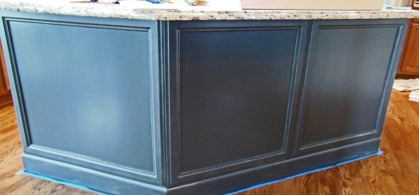 adding molding to kitchen island – Uniquely Yours… or Mine!
