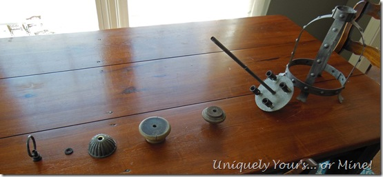 DIY vintage pendant light rewiring