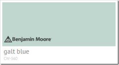 Galt blue Benjamin Moore