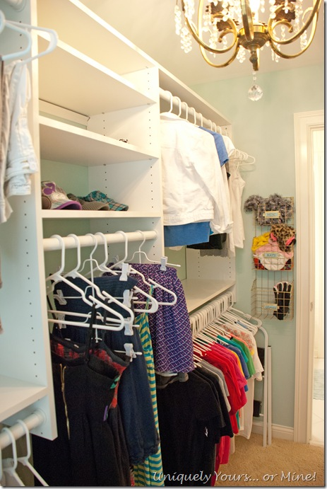 EasyCloset closet system closet update