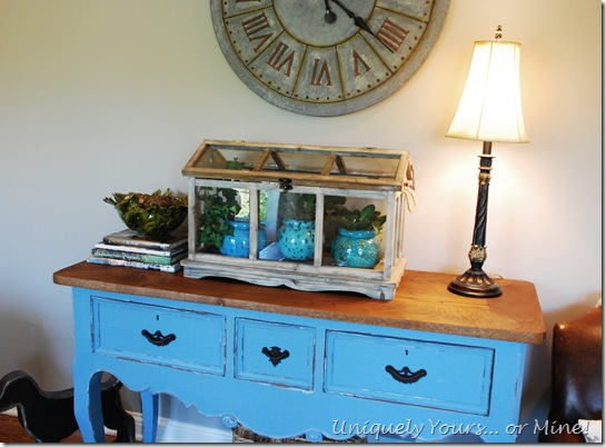 using antiques in the family room
