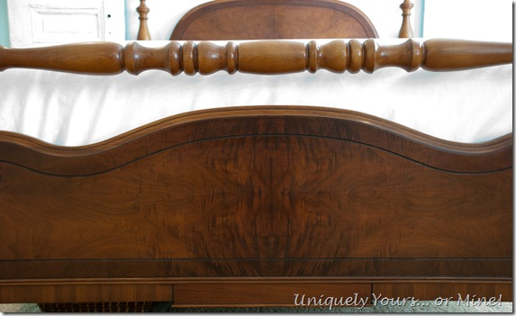 Gorgeous Restored vintage full sized bed