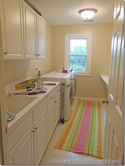Laundry Room Update before