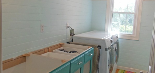 Laundry Room Remodel In Progress