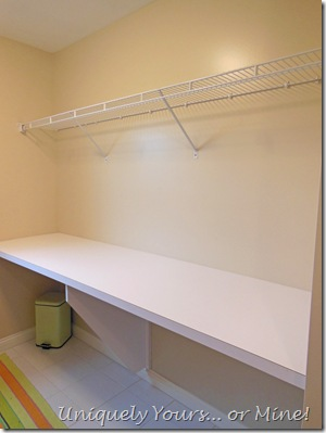 before laundry room makeover