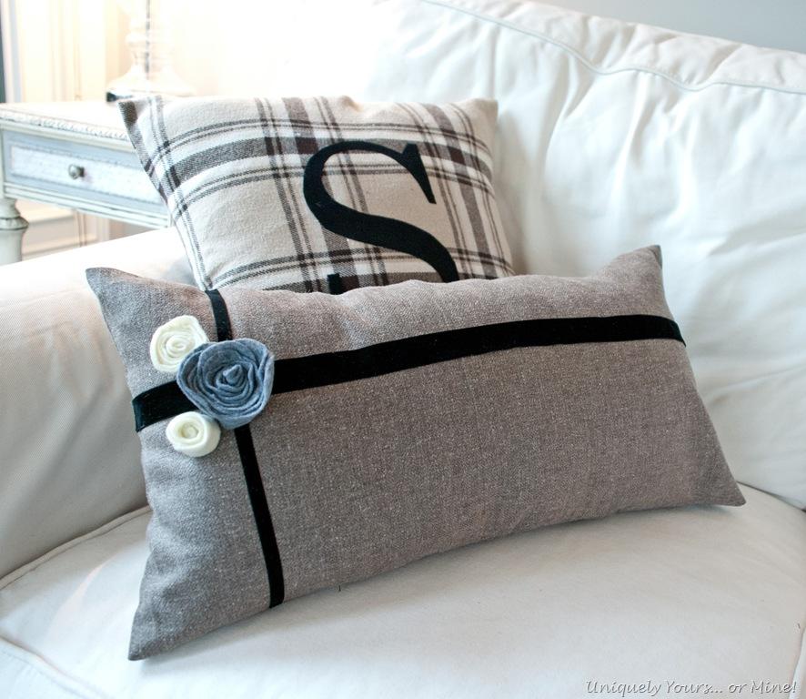 DIY Fall Pillow Cases