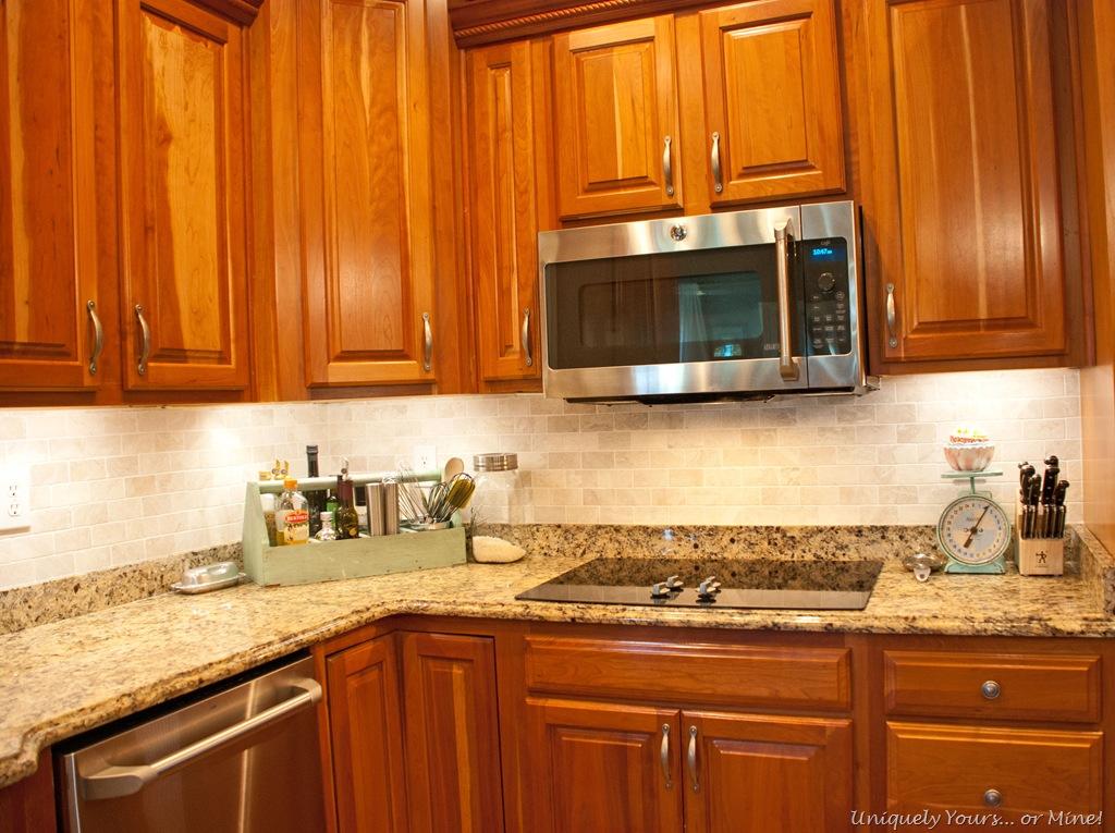 Kitchen Updates, Tile, Lights, Paint - Uniquely Yours… or ...