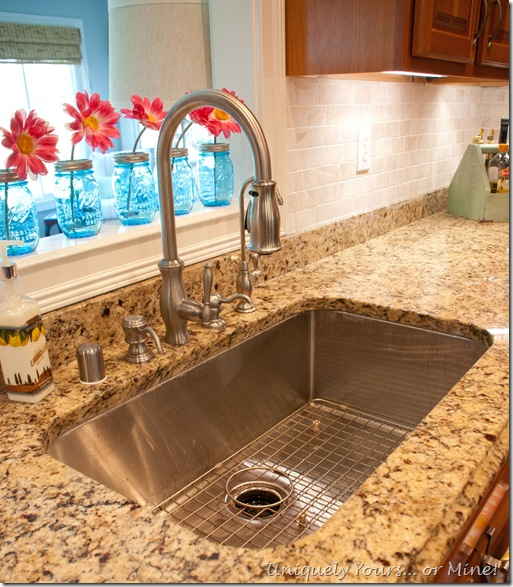 Single bowl deep kitchen sink
