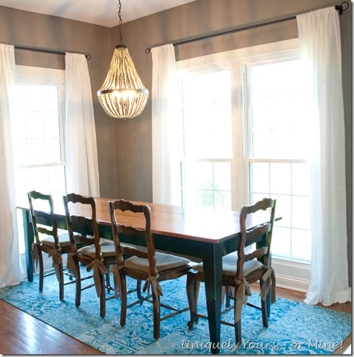 Eat in kitchen area, Farmhouse Table
