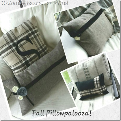 Custom DIY Pillow Cases and Embellishments
