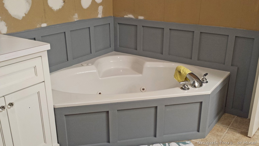 Bathroom cabinets without sink - Updating Tub Surround Uniquely Yours Or Mine