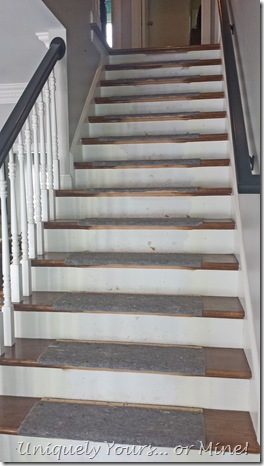 Replacing a stair runner