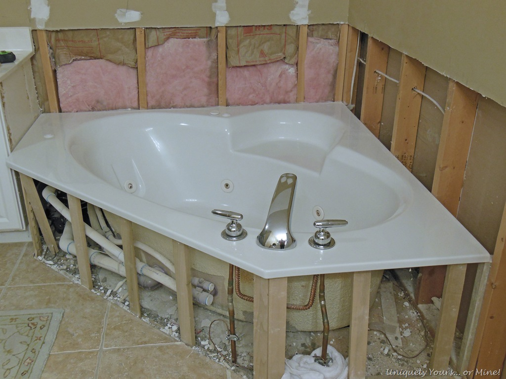 Removing Wall Tile From Tub Surround In Bathroom Part 87