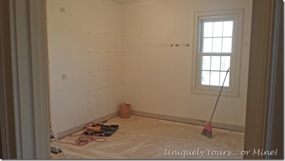 Master closet renovation remodel