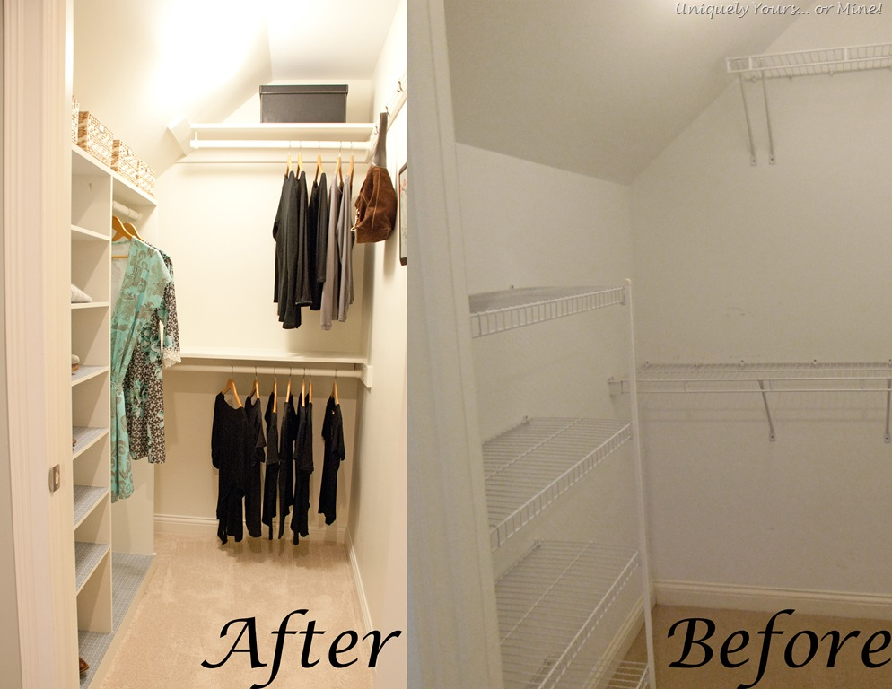 Charmant Before And After Closet Update And Remodel
