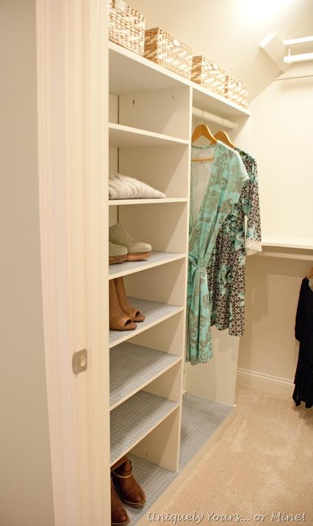 Custom closet remodel