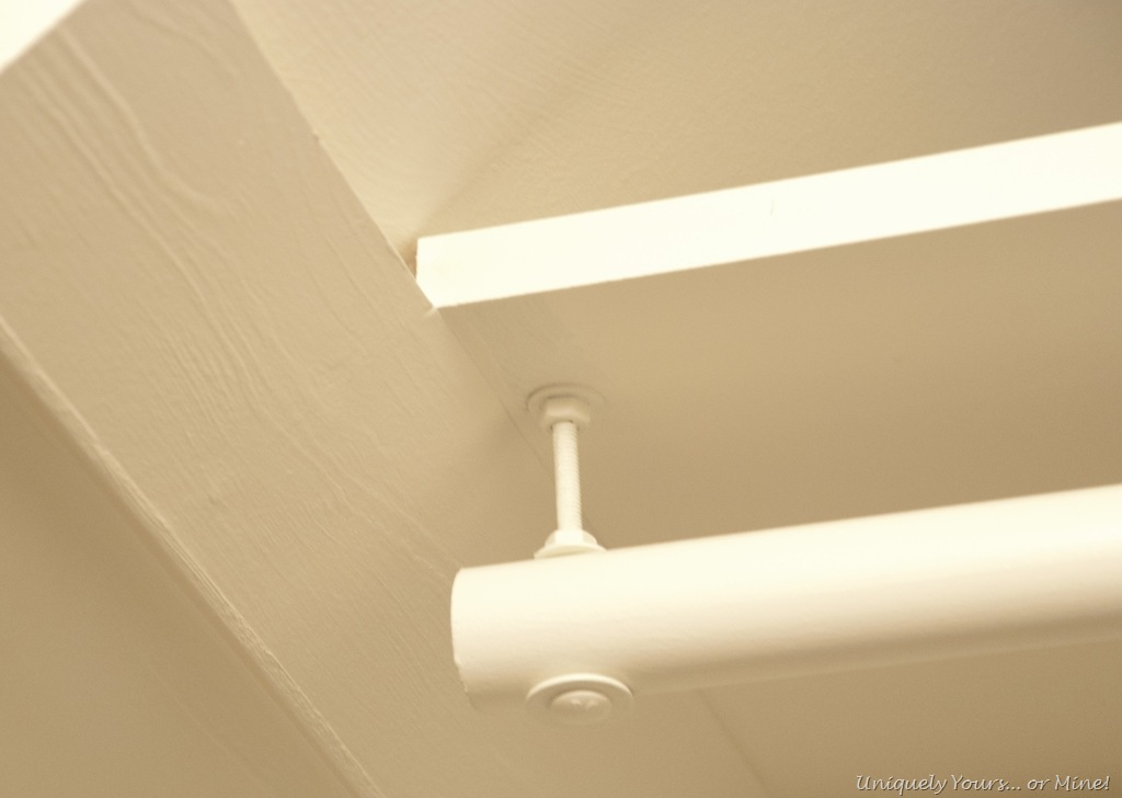 Sloped Ceiling Closet Rod Solution