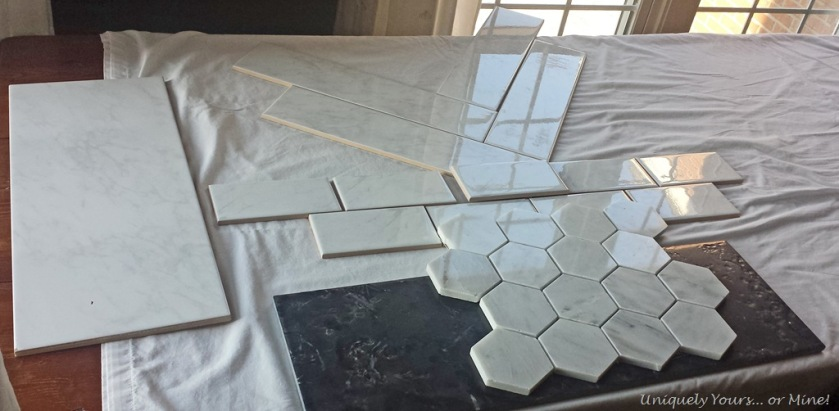 Master bathroom shower tile choices