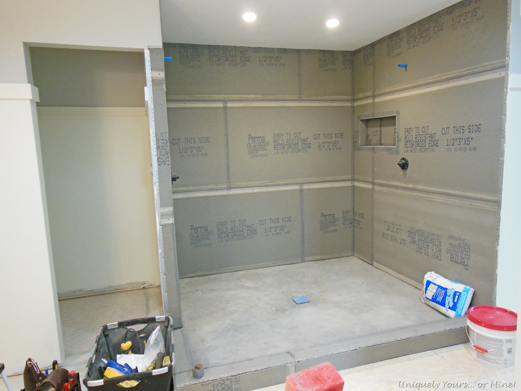 Building A Walk In Shower